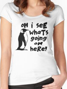 Billy Madison Quote - Oh I See What's Going On Here Women's Fitted Scoop T-Shirt