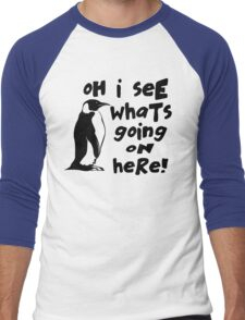 Billy Madison Quote - Oh I See What's Going On Here Men's Baseball ¾ T-Shirt