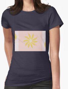 Sun Flower Womens Fitted T-Shirt