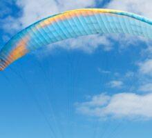 Paraglider in Blue Sticker