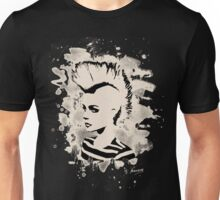 Punk Girl – bleached - white Unisex T-Shirt