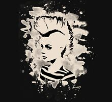 Punk Girl – bleached - white Unisex T-Shirt