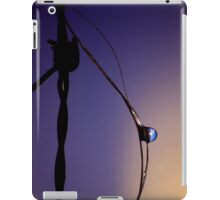 The world on a wire iPad Case/Skin