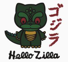 Hello Zilla One Piece - Short Sleeve