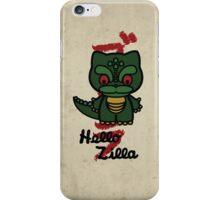Hello Zilla iPhone Case/Skin