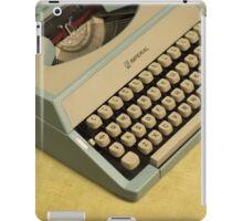 Vintage TAB-O-MATIC Antique Typewriter 1970's iPad Case/Skin