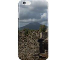Vesuvius, Towering Over the Pompeii Ruins iPhone Case/Skin
