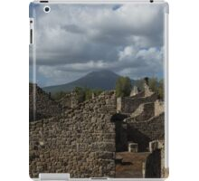 Vesuvius, Towering Over the Pompeii Ruins iPad Case/Skin