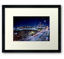 Melbounre city Framed Print