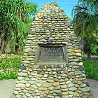 The Captain Cook Cairn by Penny Smith