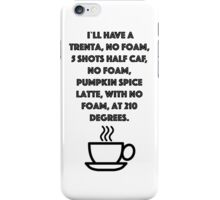 No foam! iPhone Case/Skin