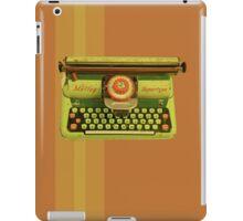 Vintage Tin Mettoy Supertype  Antique Typewriter 1960's iPad Case/Skin