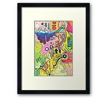 Abstract 360 Framed Print