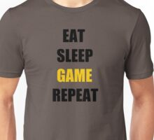 Eat, Sleep, Game. Unisex T-Shirt