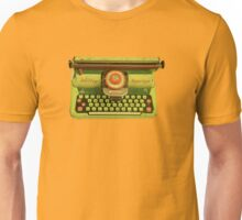 Vintage Tin Mettoy Supertype  Antique Typewriter 1960's Unisex T-Shirt