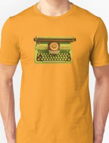Vintage Tin Mettoy Supertype  Antique Typewriter 1960's T-Shirt