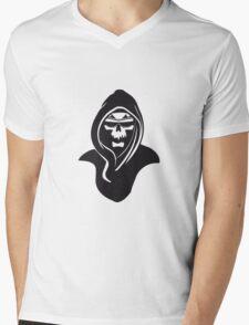 Death hooded sunglasses Mens V-Neck T-Shirt