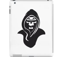 Death hooded sunglasses iPad Case/Skin