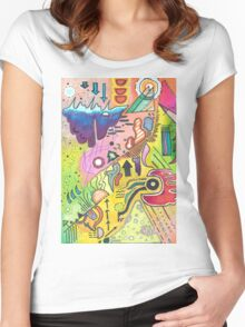 Abstract 360 Women's Fitted Scoop T-Shirt