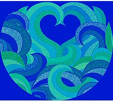 Oceans of love Photographic Print