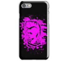 Punk Girl – bleached pink iPhone Case/Skin