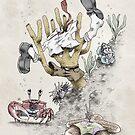 Real Life SpongeBob - Natural History Variant by Filippo Vanzo