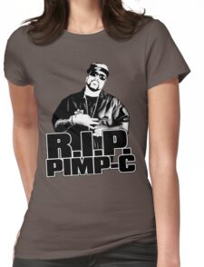 RIP Pimp C Womens Fitted T-Shirt