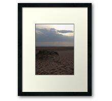 Sunsets & Sand Dunes Framed Print