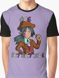 "Silva Gunmetal, ""Ace"" Detective Graphic T-Shirt"
