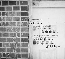Ask Seek Knock by Kimberose