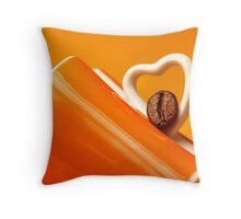 Coffee Passionated's Pillow Throw Pillow