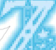 Breath of the Wild Z-Logo (Blue Glow) Sticker