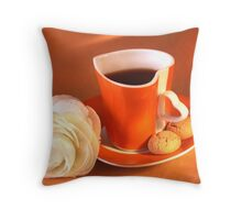 Amarettini and Espresso Lover's Pillow Throw Pillow