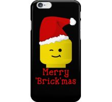 Santa Minifig - Merry 'Brick'mas iPhone Case/Skin