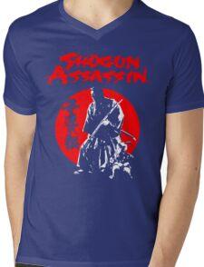 LONEWOLF AND CUB AKA SHOGUN ASSASSIN SHINTARO KATSU JAPANESE CLASSIC SAMURAI MOVIE  Mens V-Neck T-Shirt