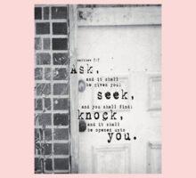 Ask Seek Knock Kids Clothes