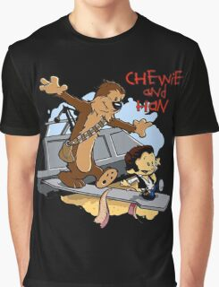 Calvin And Hobbes Parody Graphic T-Shirt