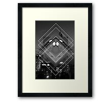 London in Shapes Framed Print
