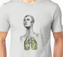 Breathe. Unisex T-Shirt