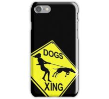 DOGS XING iPhone Case/Skin