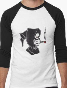 Death hooded kiffen joint Men's Baseball ¾ T-Shirt