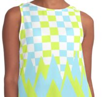 Fancy in yellow and blue Contrast Tank