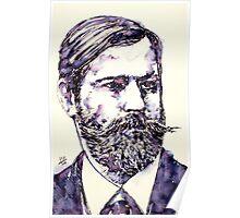 SIGMUND FREUD - portrait.2 Poster