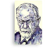 SIGMUND FREUD - portrait.3 Metal Print