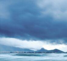 Cloud-Break Morning, Lagoon Beach, Cape Town Sticker