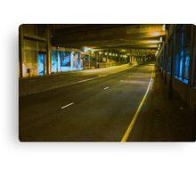 Tunnel Love Canvas Print