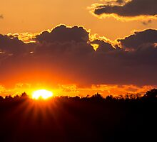 Sunset May 17, 2014 by Tom Gotzy