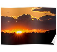 Sunset May 17, 2014 Poster