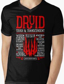 DRUID Mens V-Neck T-Shirt