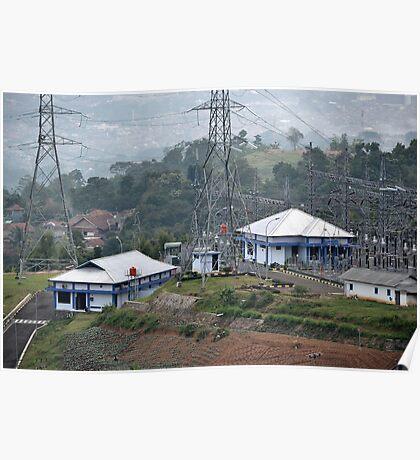 electricity plantation Poster